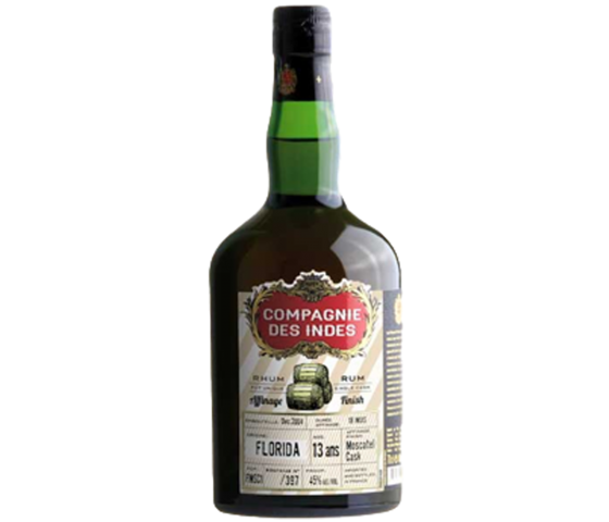 Compagnie des Indes Florida 13 Years Cask Finish - Single Cask