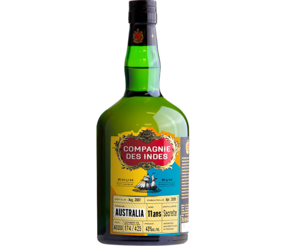 Compagnie des Indes Australie 11 Years Cask Finish - Single Cask