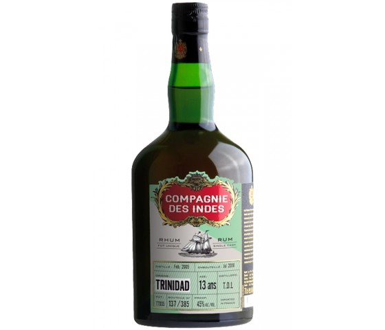 Compagnie des Indes Trinidad 13 Years Old - Single Cask