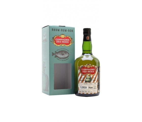 Compagnie des Indes Florida 14 Years Cask Finish - Single Cask
