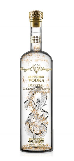 Royal Dragon Superior Imperial Vodka 70cl