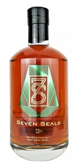 Seven Seals Peated Single Malt Port Wood Finish