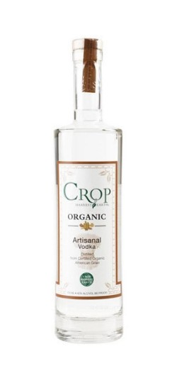 Crop Artisanal Organic Vodka